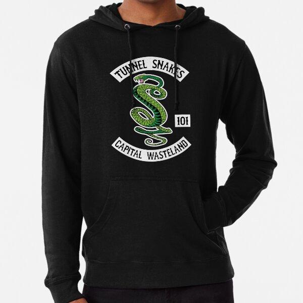 Serpientes de Túnel - Capital Wasteland Sudadera ligera con capucha