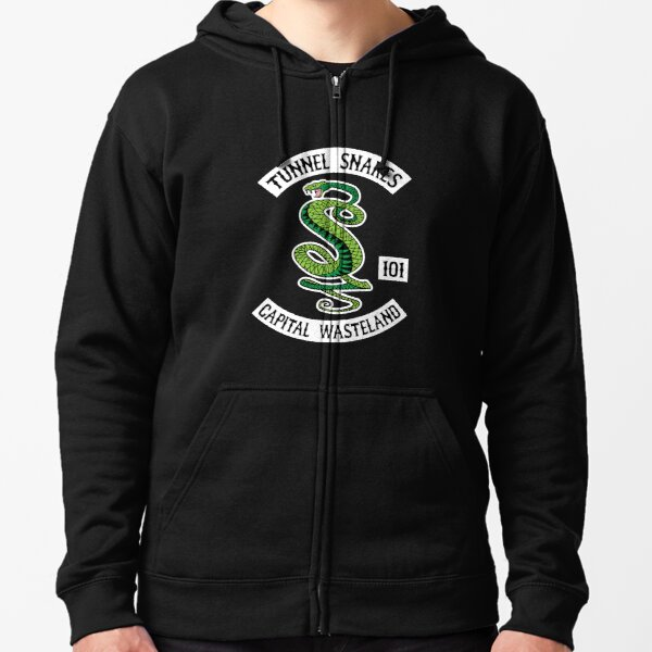 Tunnel Snakes - Capital Wasteland Zipped Hoodie
