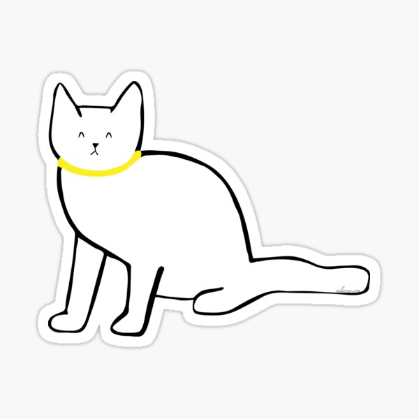 Dolly the Cat Sticker
