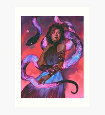 Witch of Rasalhague Art Print