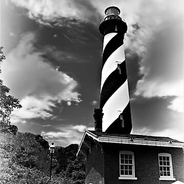 St Augustine Lighthouse Portrait by TRussotto