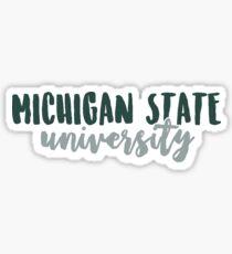 Michigan State University Sticker