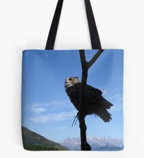 Eagle Owl in Austria Tote Bag