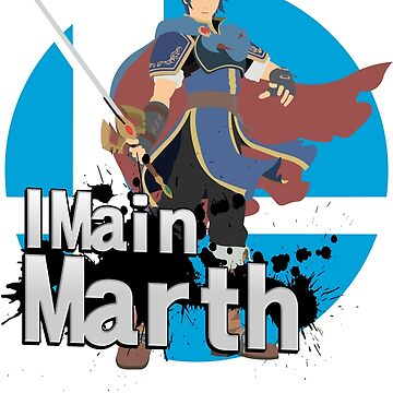 Super Smash Bros. Ultimate - I Main Marth by PrincessCatanna