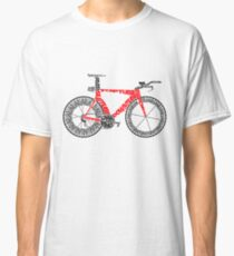 Anatomy of a Time Trial Bike Classic T-Shirt