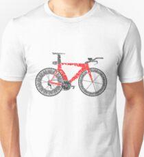 Anatomy of a Time Trial Bike Unisex T-Shirt