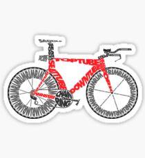 Anatomy of a Time Trial Bike Sticker