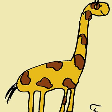 The coolest giraffe in the world by Eastcook
