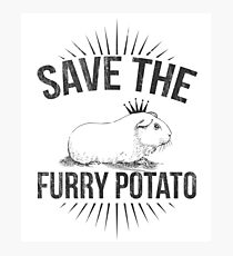 Furry Potato Photographic Print