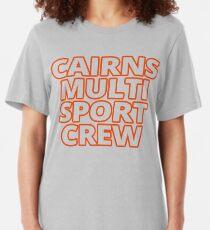Cairns MultiSport Crew - merch/swag/gear Slim Fit T-Shirt