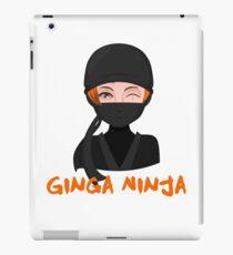 Ginga Ninja Ginger AF Redhead Funny Novelty Gingers Rule iPad Case/Skin