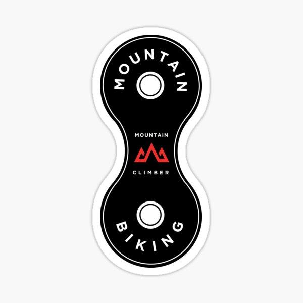 Mountain Bike - Chain Link Sticker
