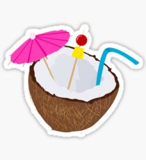 Coconut Water Drawing Stickers