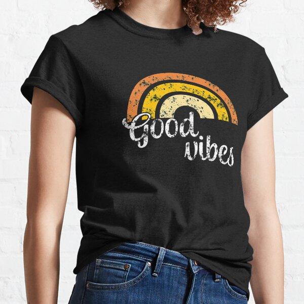 Good Vibes Rainbow T-Shirt Classic T-Shirt