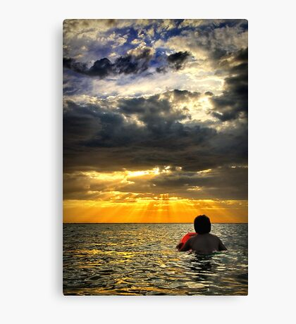 Evening Heat Canvas Print