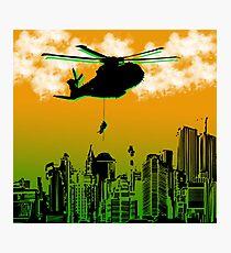 Black Hawk Down Photographic Print