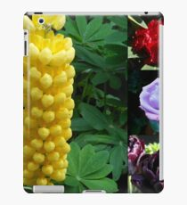 A Collage of Spring and Summer Flowers iPad Case/Skin
