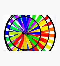 Color Wheel Photographic Print