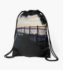 Fence, #Fence Drawstring Bag