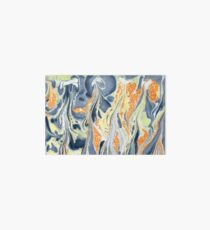 Erupting Lava #marbled #art #decor #redbubble Art Board Print