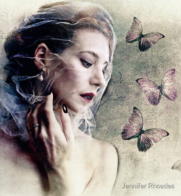 Les Papillons by Jennifer Rhoades