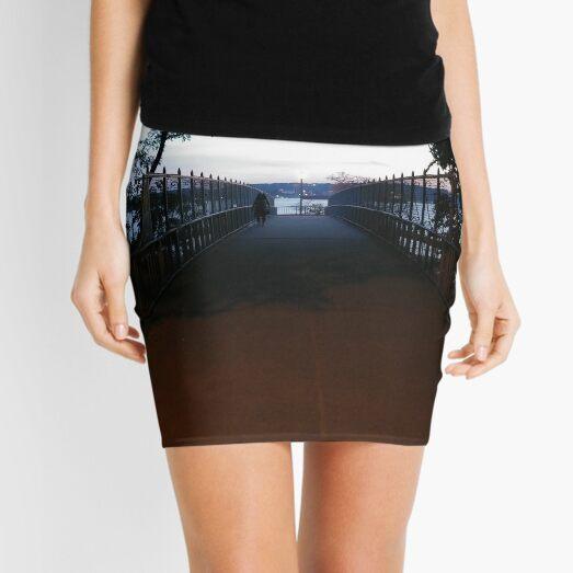 Bailey bridge, #Baileybridge, #bridge, Flowers, blossom, floret, #Flowers, #blossom, #floret, #Flower, nature, #nature Mini Skirt