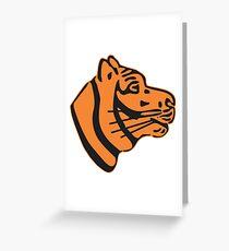 509nd Heavy Panzer Battalion - (schwere Panzerabteilung) - Clean Style  Greeting Card