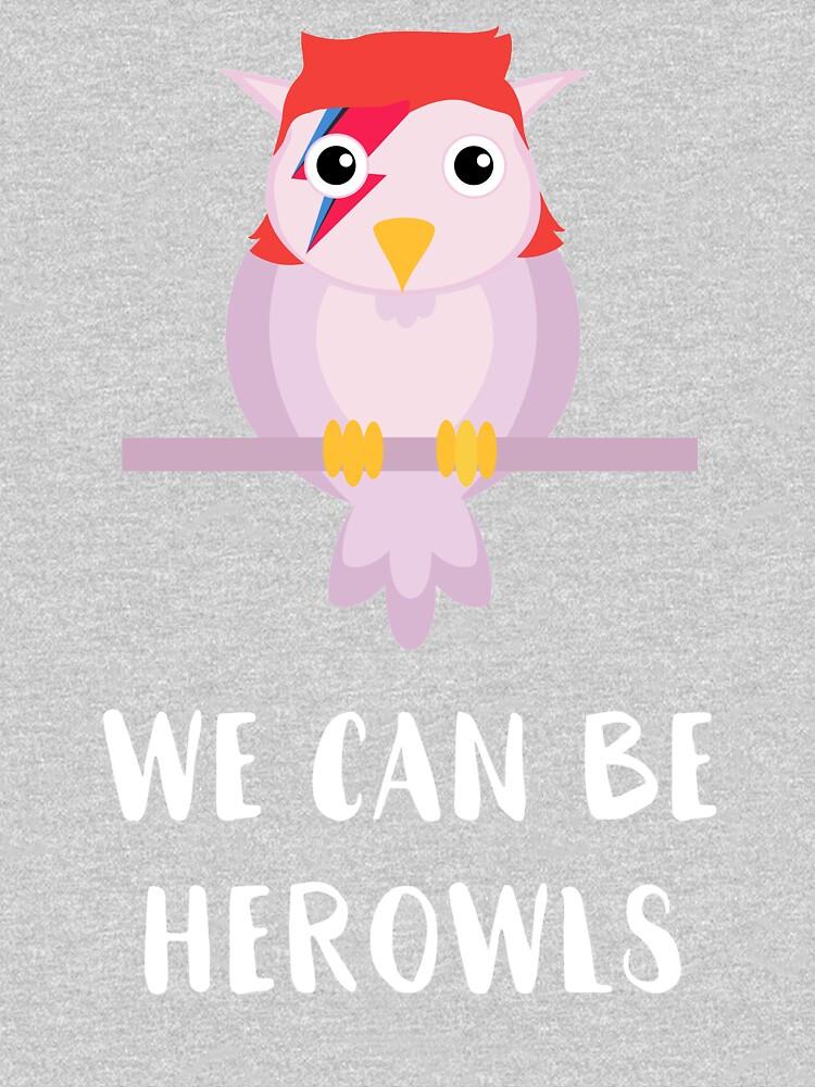 David Bowie Owl Parody by SQWEAR