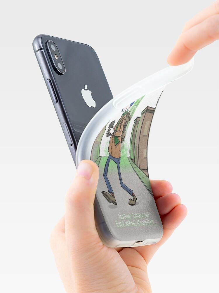 Alternate view of Alien Boredom iPhone Case & Cover