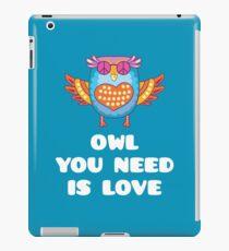 Hippie Owl - The Beatles Parody iPad Case/Skin