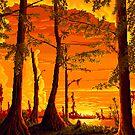 Manchac Swamp by roboticgeo