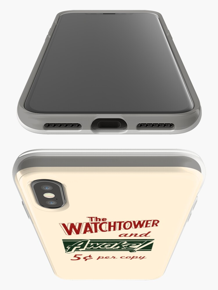 Alternate view of WATCHTOWER & AWAKE! VINTAGE MESSENGER BAG iPhone Case & Cover