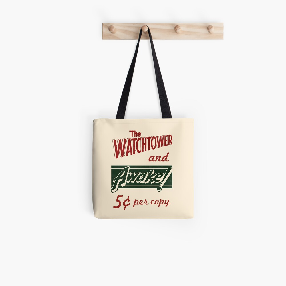WATCHTOWER & AWAKE! VINTAGE MESSENGER BAG Tote Bag