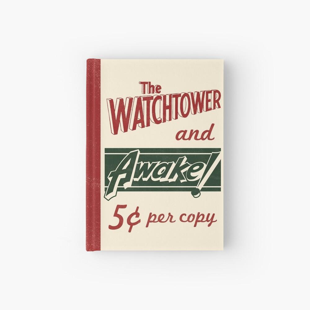 WATCHTOWER & AWAKE! VINTAGE MESSENGER BAG Hardcover Journal
