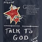 Talk To God 1998 to My daughter-not for sale by SherriOfPalmSprings Sherri Nicholas-