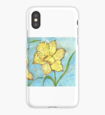 Beautiful Yellow Daffodils  iPhone Case