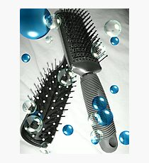 Brush away the Blues Photographic Print
