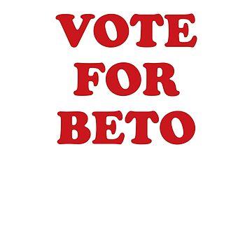 Vote for Beto | Texas Senate Election 2018 Tshirt by hamilkids