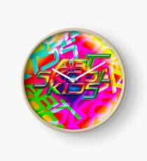 Art Skool Kids  Clock