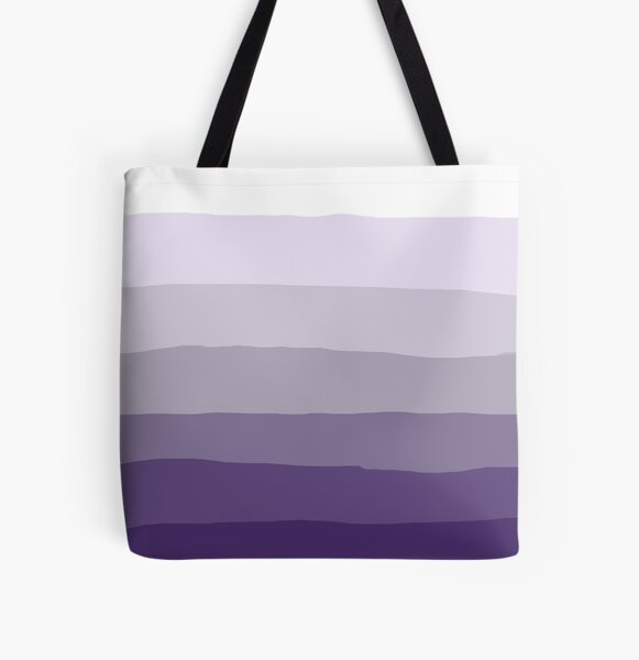 Ombre All Over Print Tote Bag