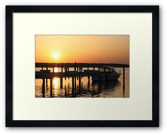 Dock of Sunshine by Dean Mucha