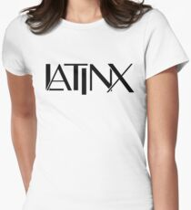 Latinx Women's Fitted T-Shirt