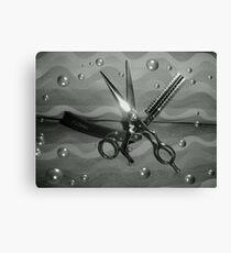 Clocking Shears Canvas Print