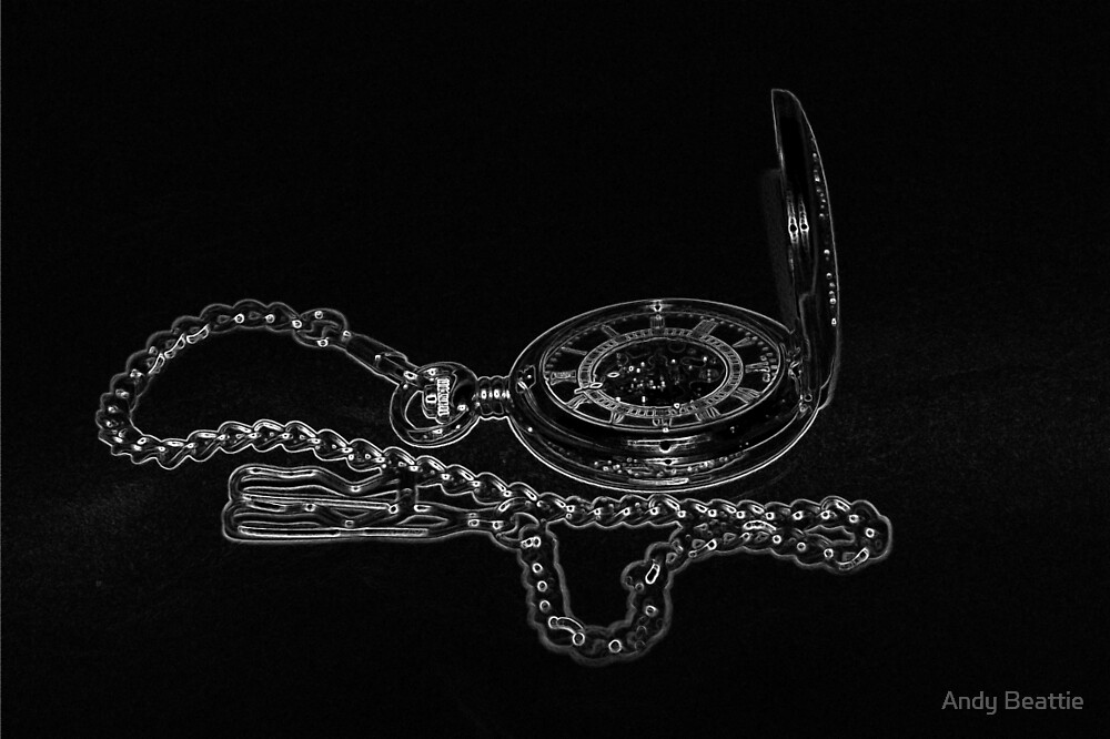 Skeleton pocket watch by Andy Beattie