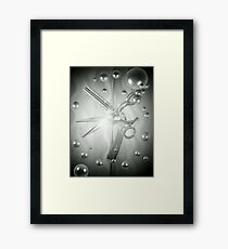 Spotlight Shears Framed Print