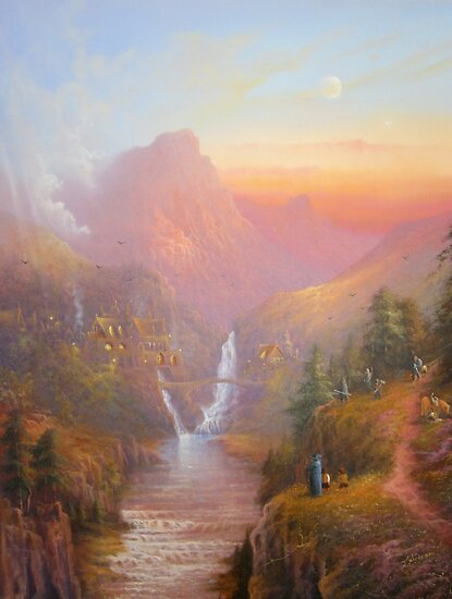 Nine Walkers (Fellowship) by Joe Gilronan