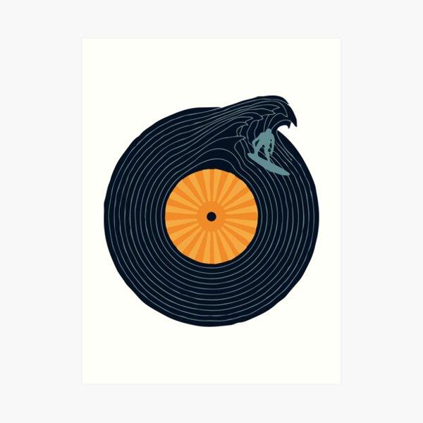 Ride the Music  Art Print