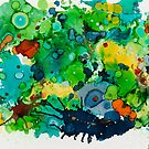 Abstract Garden by Helen Dannelly