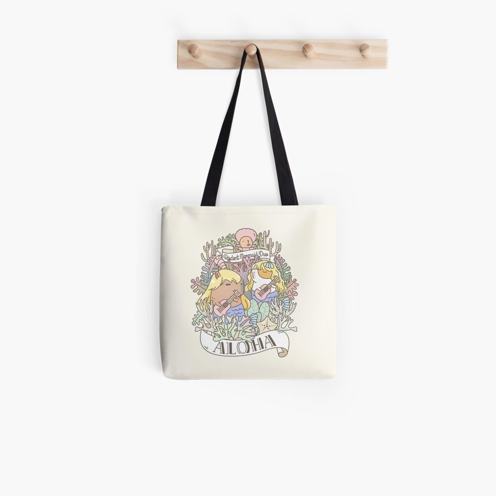 Rodent Mermaid Duo Tote Bag