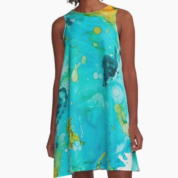 Waterscape A-Line Dress